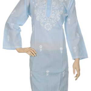 Knee Length Embroidered Long Tunics