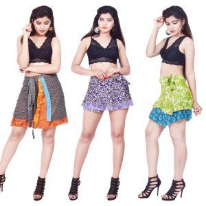Beachwear Short Wrap Skirt