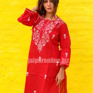 Indian Hand Embroidered Long Kurtis