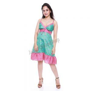modern sari silk dresses
