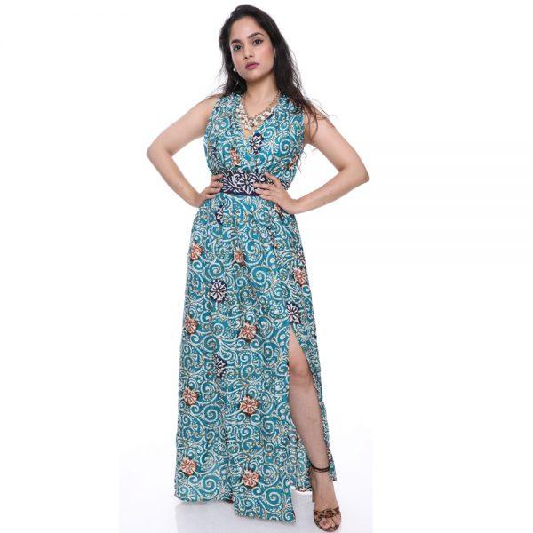 Vintage Sari Silk Dresses