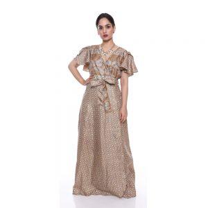 Designer Floral Maxi Dresses