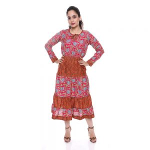 Indian Party Wrap Dresses